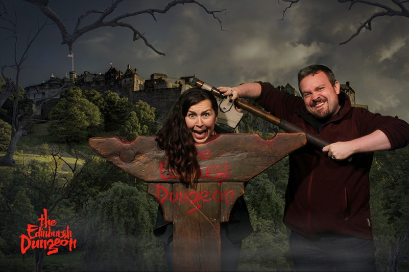 Edinburgh Dungeon - How could he???!