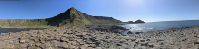 giants causeway panoramic