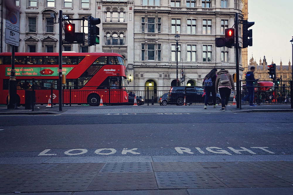 london street look right