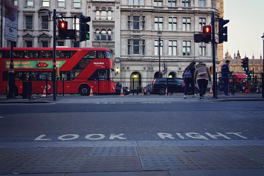 london street look right
