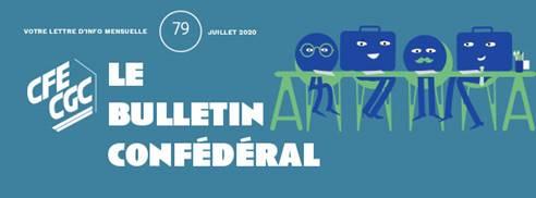 Bulletin confédéral n°79 – Juillet 2020