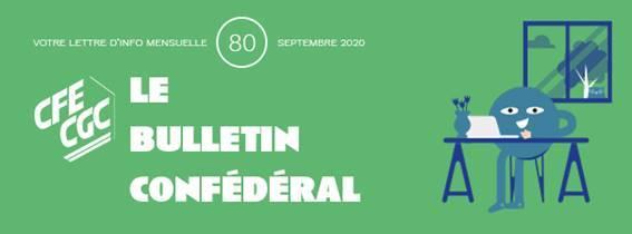 Bulletin confédéral n°80 – Septembre 2020