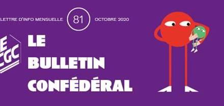 Bulletin confédéral n°81 – Octobre 2020