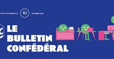 Bulletin confédéral n°82 – Novembre 2020