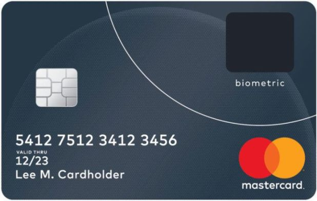 MasterCard Reveals Next-Generation Biometric Card