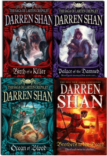 Darren Shan Series Collection The Saga Of Larten Crepsley 4 Books Set 9780007952533 Buy Books