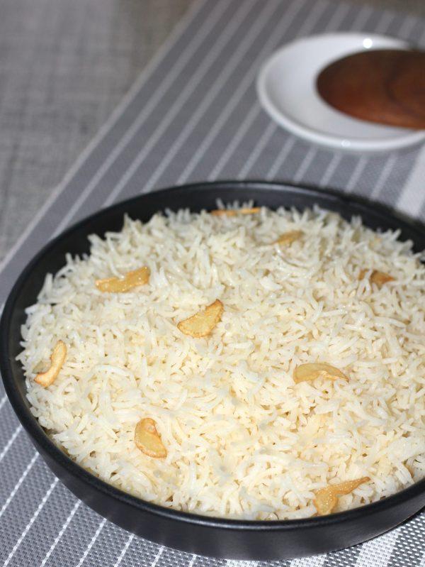 Garlic rice 1