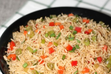Restaurant style vegetables fried rice 1
