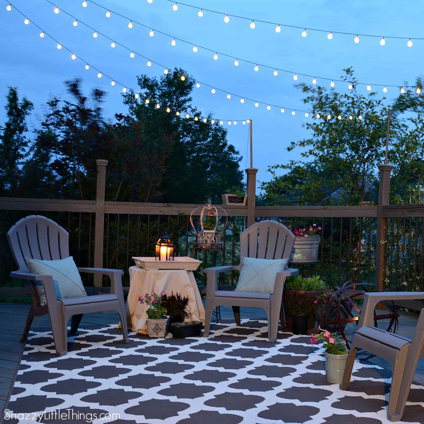 Favorite Things: Outdoor Spaces | snazzy little things on Economical Patio Ideas  id=36896