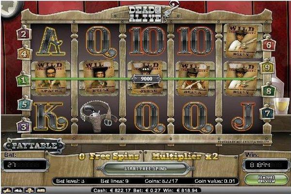 Big Win on Dead or Alive Slot at Nordicbet Casino