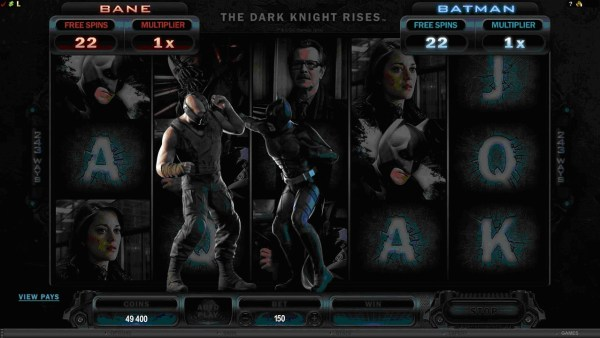 The Dark Knight Rises Video Slot