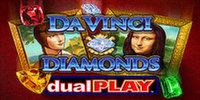 Dual Play Da Vinci Diamonds IGT Slot