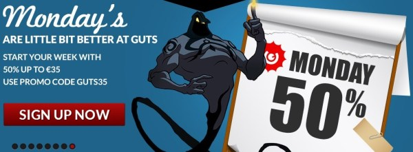 Guts Casino 35 Euros and 35 Free Spins