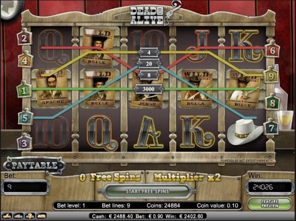 Guts Casino Big Win Dead or Alive