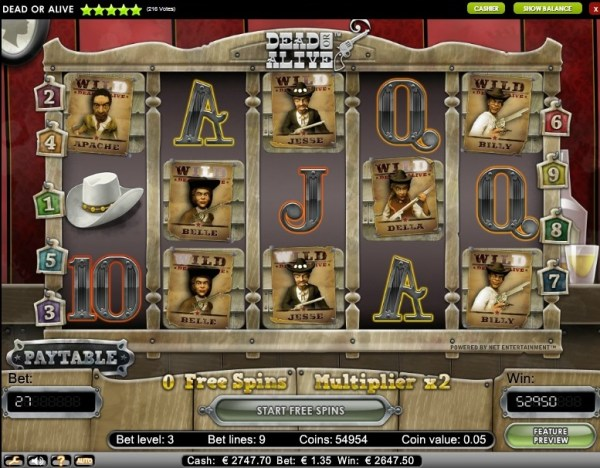 BetAt Casino Big Win Dead or Alive