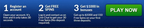 30 Free Spins No Deposit Game of Thrones
