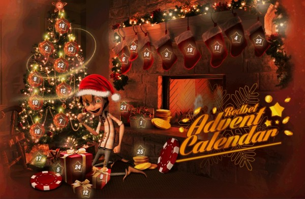 Redbet Advent Calendar Free Spins + Bonuses