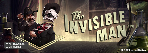 Free Invisible Man Slot from NetEnt