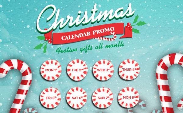 Casino Luck 30 Free Spins - Advent Calendar