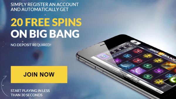 Guts Casino - 20 Free Spins No Deposit