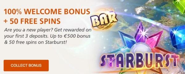 Insta Casino Welcome Bonus
