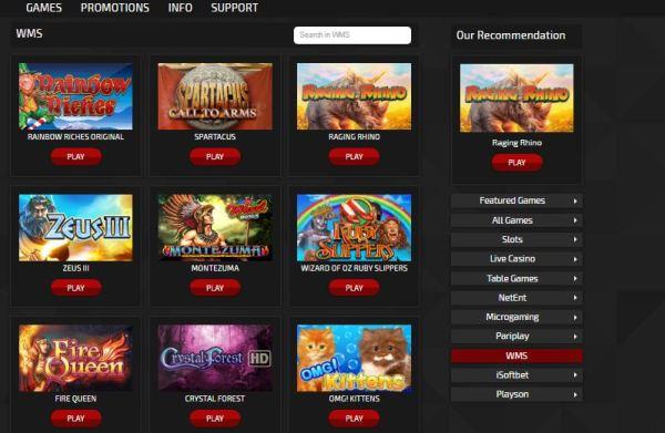 trada casino fun code