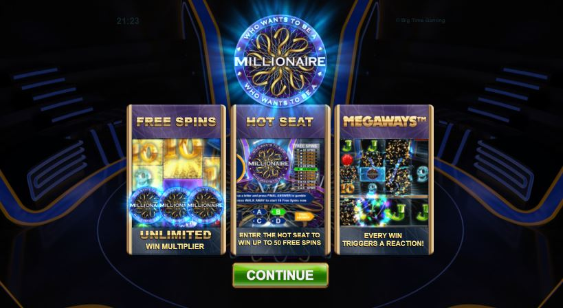 Who Wants To Be A Millionaire Slot Online
