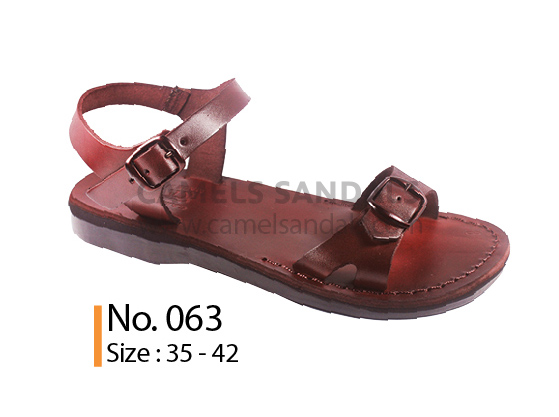 image of camel sandals #063