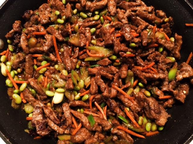 Asian garlic chili sauce for steak