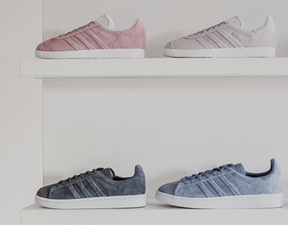 adidas Originals Campus & Gazelle stitch & turn pack.