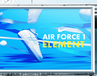 NIKE : AIR FORCE 1 ELEMENT
