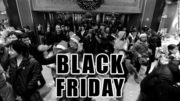 Black Friday (Fotó: Stan Honda / AFP / Getty Images)