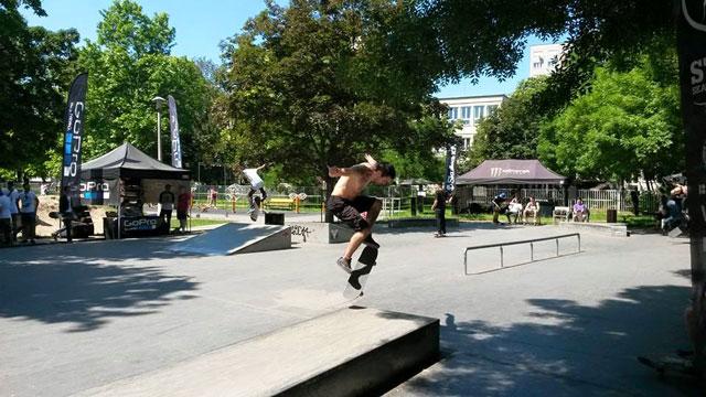 Alex beszámolója az óbudai, laktanya utcai skatepark első versenyérőll