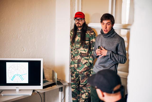 Vezetőink Moszkvában: Dimitry és Airat