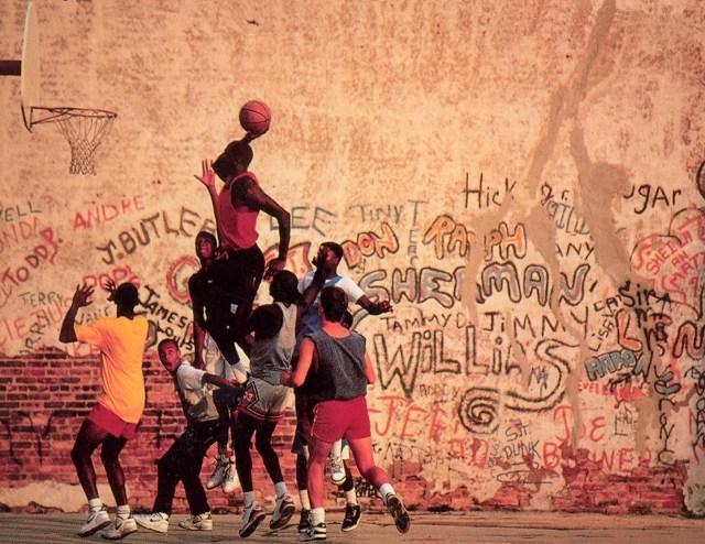 Utcai kosárlabda New Yorkban