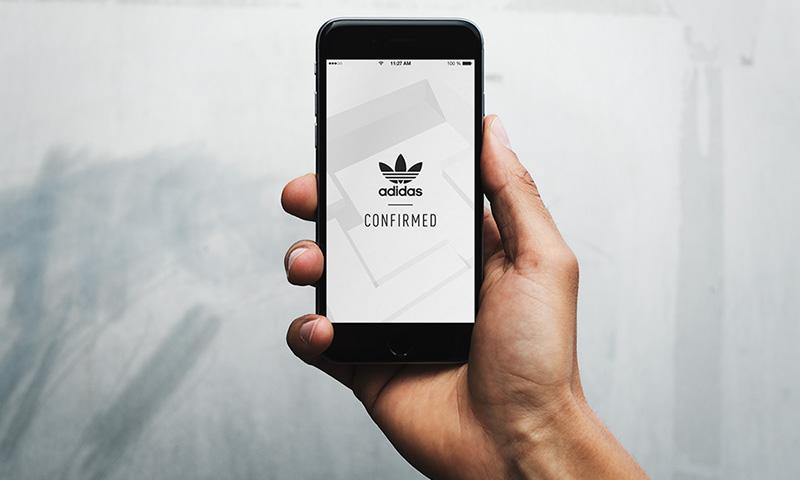 adidas Confirmed app a limitált adidas cipők - köztük a Yeezy - beszerzésére
