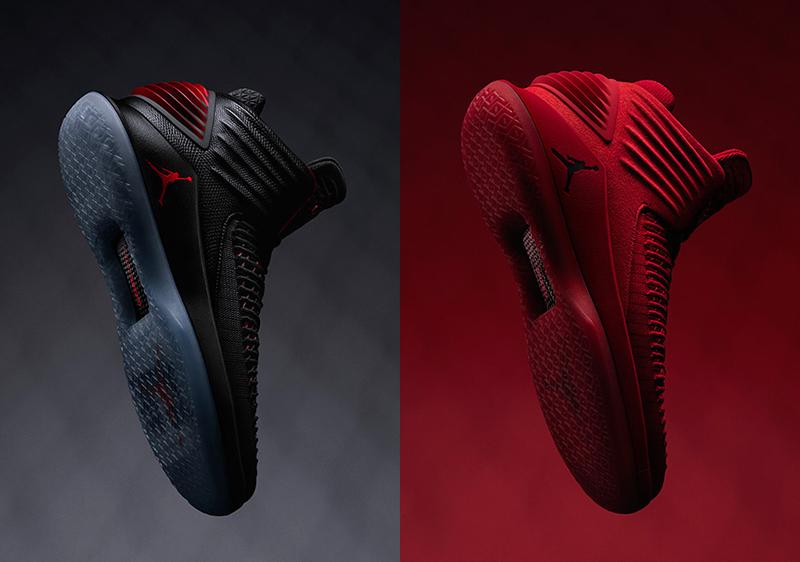 """Air Jordan 32 """"Bred"""" és """"Rossa Corsa"""""""
