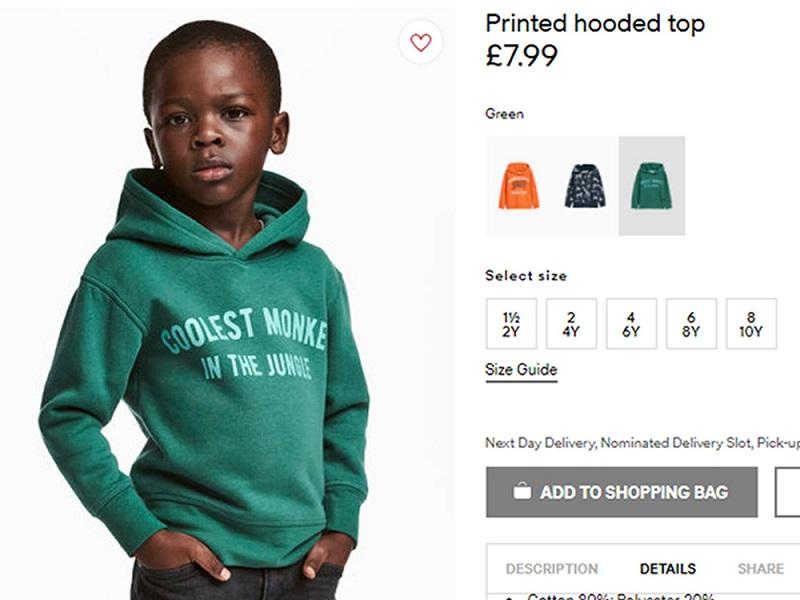 Ezzel a H&M beleszaladt egy elég nagy pofonba