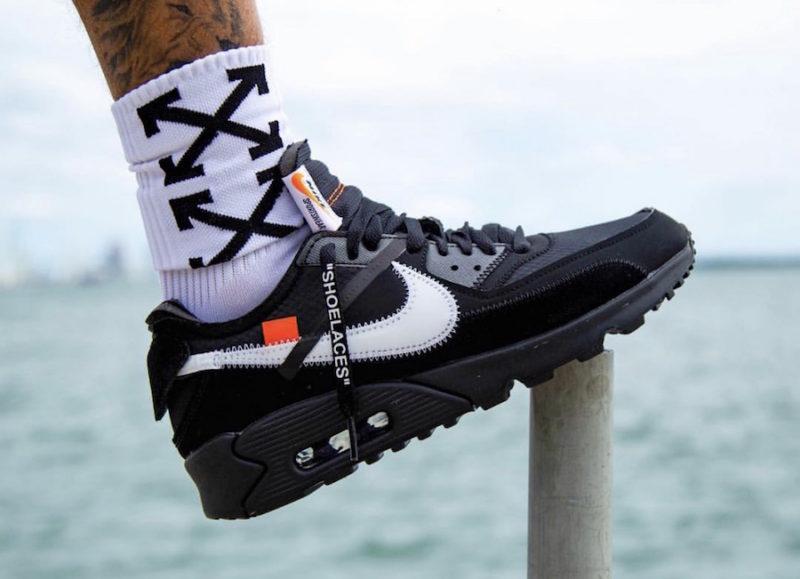 "Nike X Off-White Air Max 90 ""Black"""