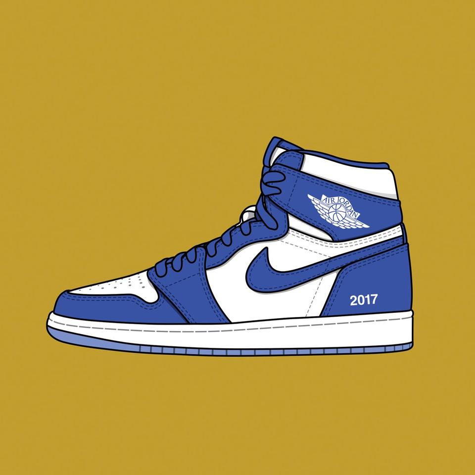 colette x Nike Air Jordan 1 F&F