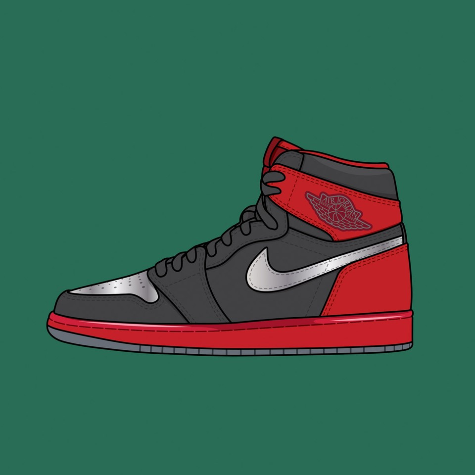 "Nike Air Jordan 1 ""Legends of Summer Black"""