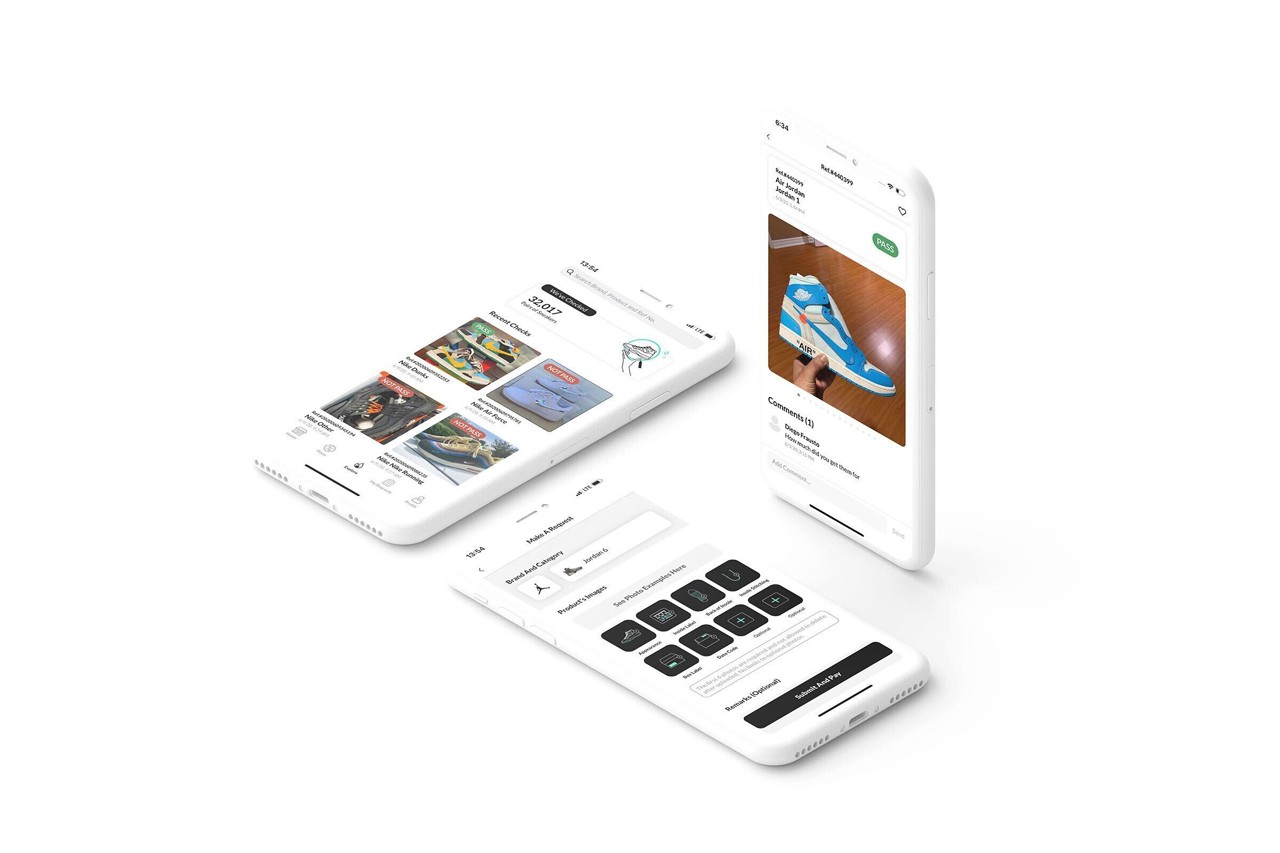 CheckCheck - sneaker legit check app