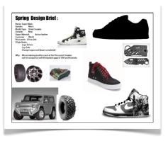A design brief for a shoe design. How Shoes are Made