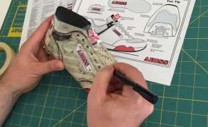 shoe last drawings shoe pattern making process