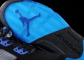 Shoe sole logo