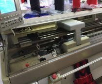 """""""Flyknit"""" style weaving machine in action"""