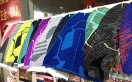 FlyKnit technology available in china Local shoe material market