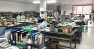 handbag factory development room