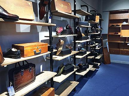 Custom Shoe Show Room