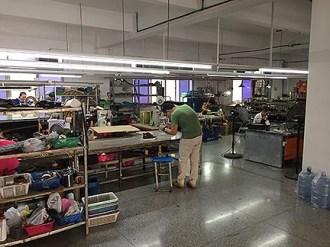 A small custom shoe factory